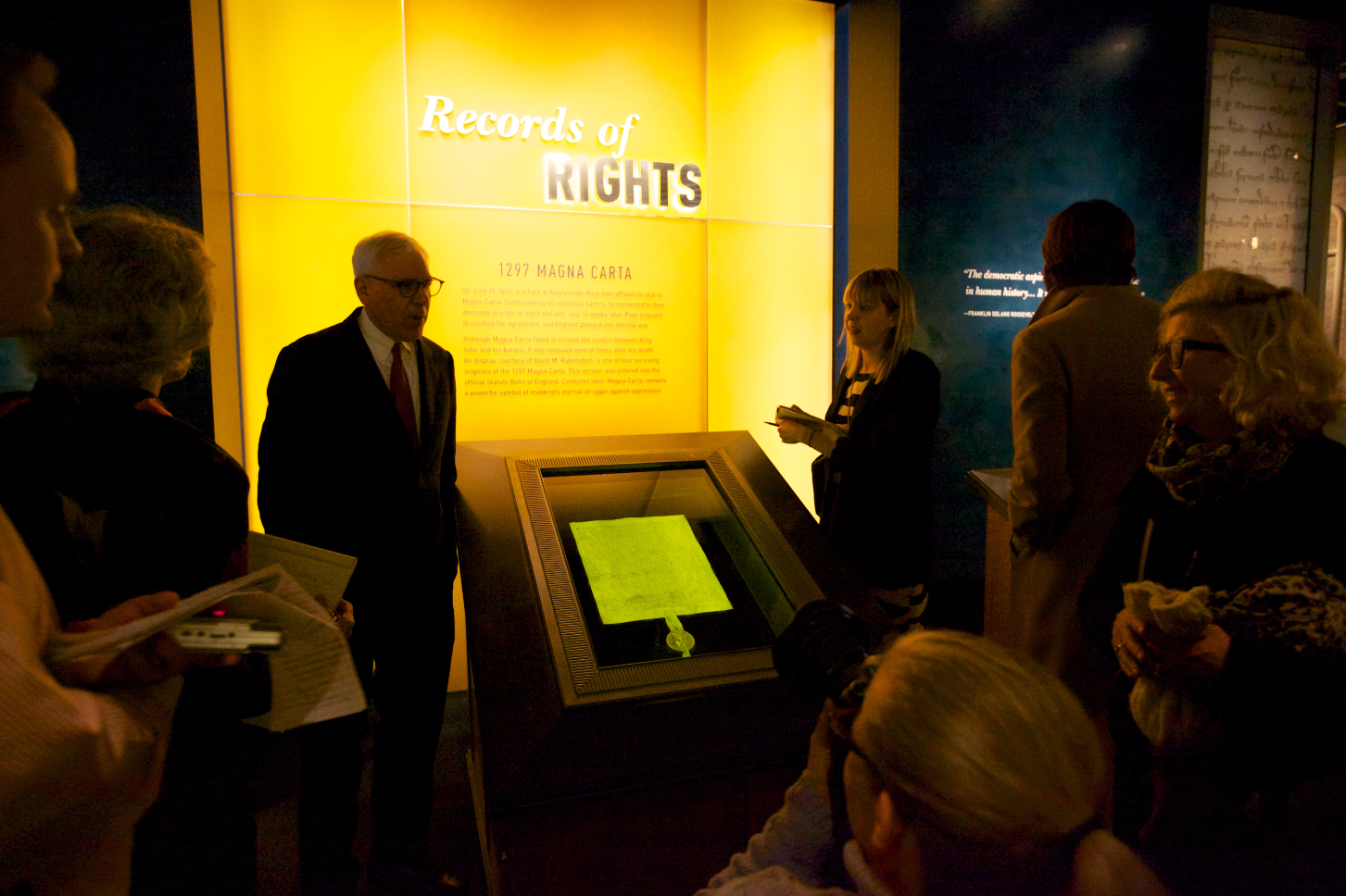 David M. Rubenstein and Magna Carta