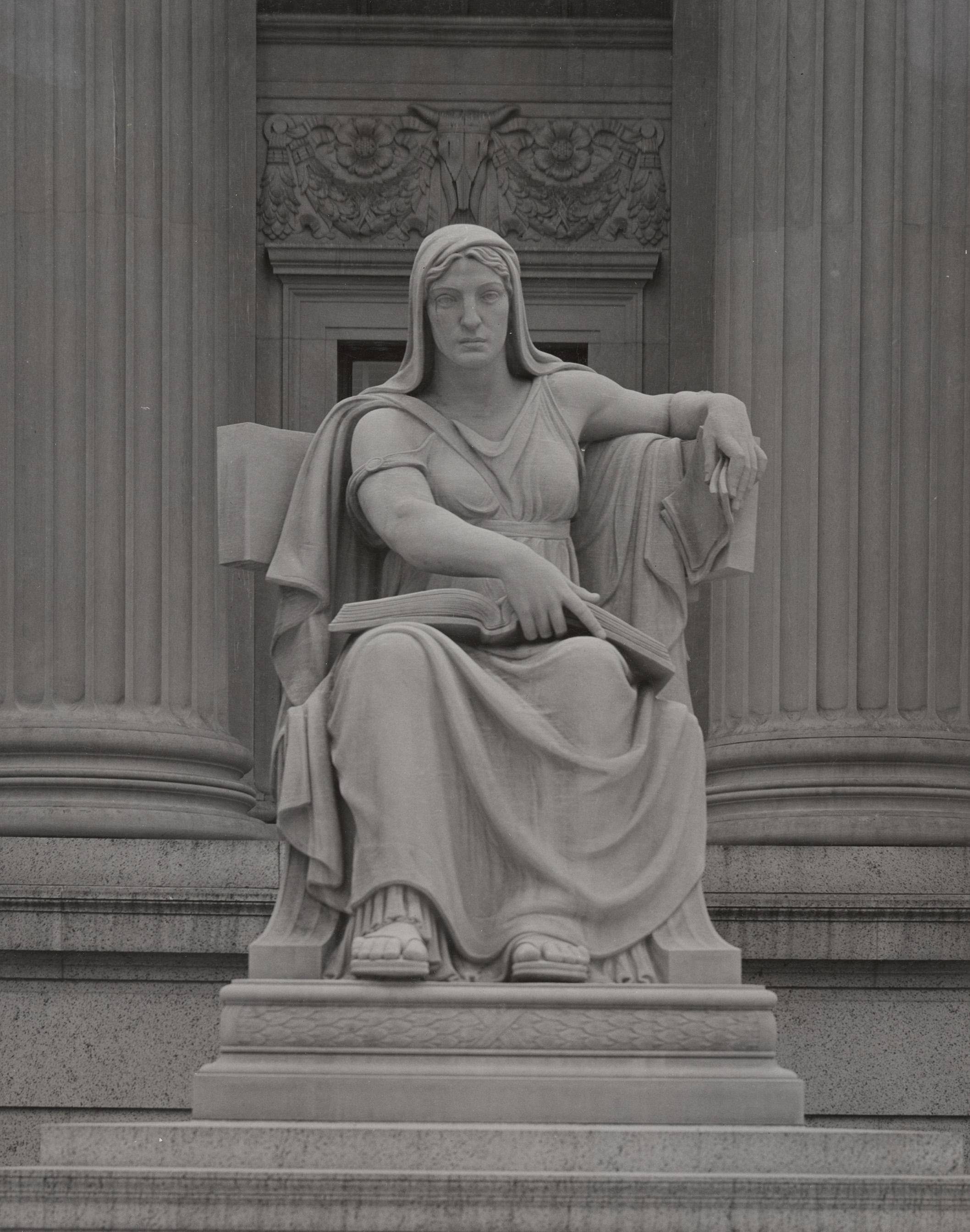 The Future statue