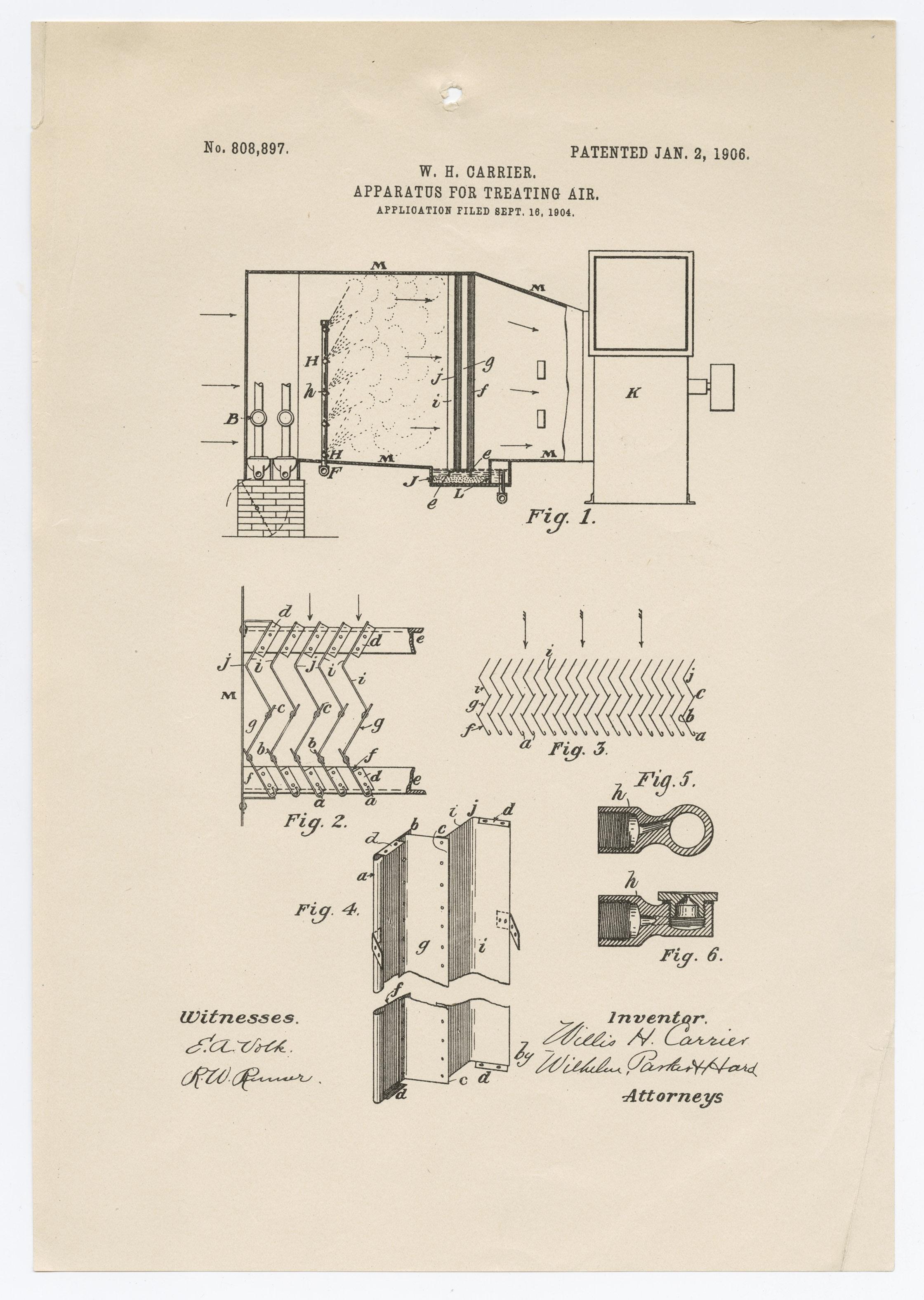 air treatment patent