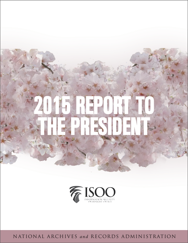 ISOO 2015 Annual Report