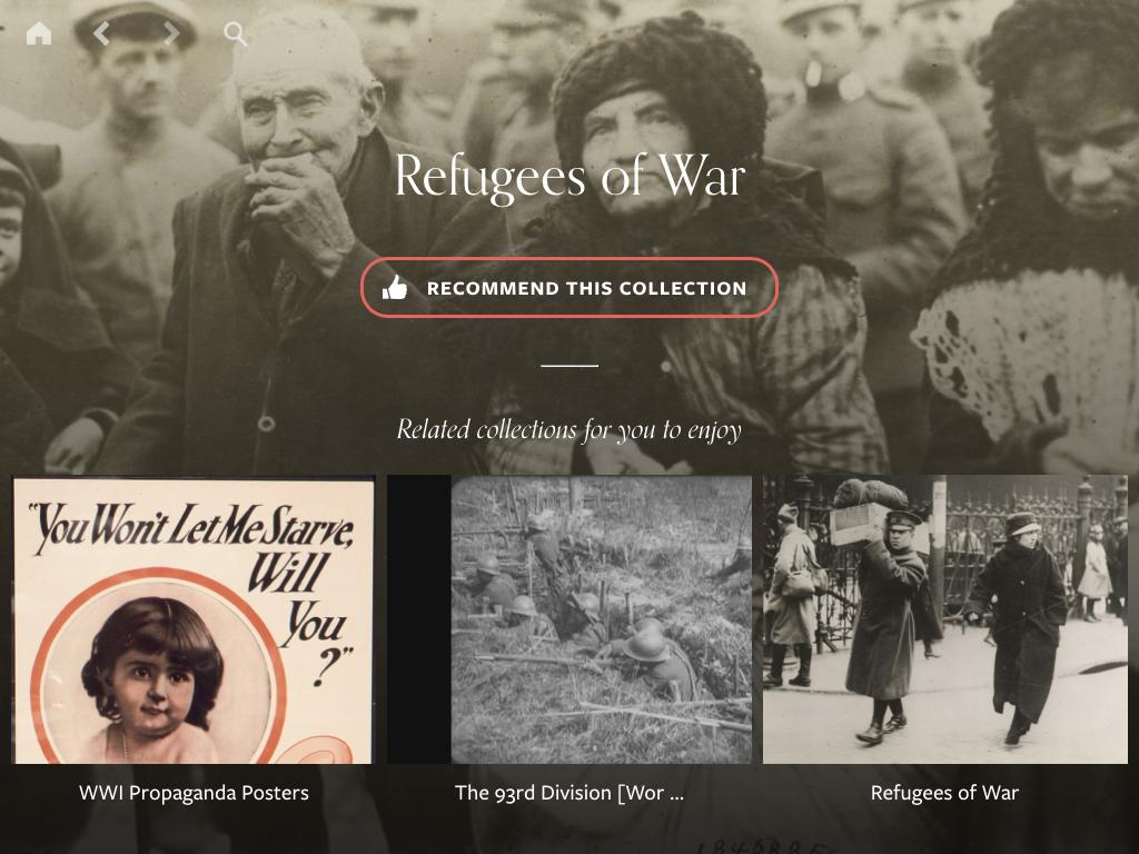 WWI app screenshot 4