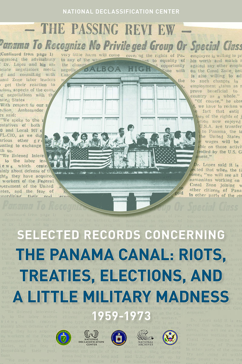 NDC Panama Canal Records Release Poster