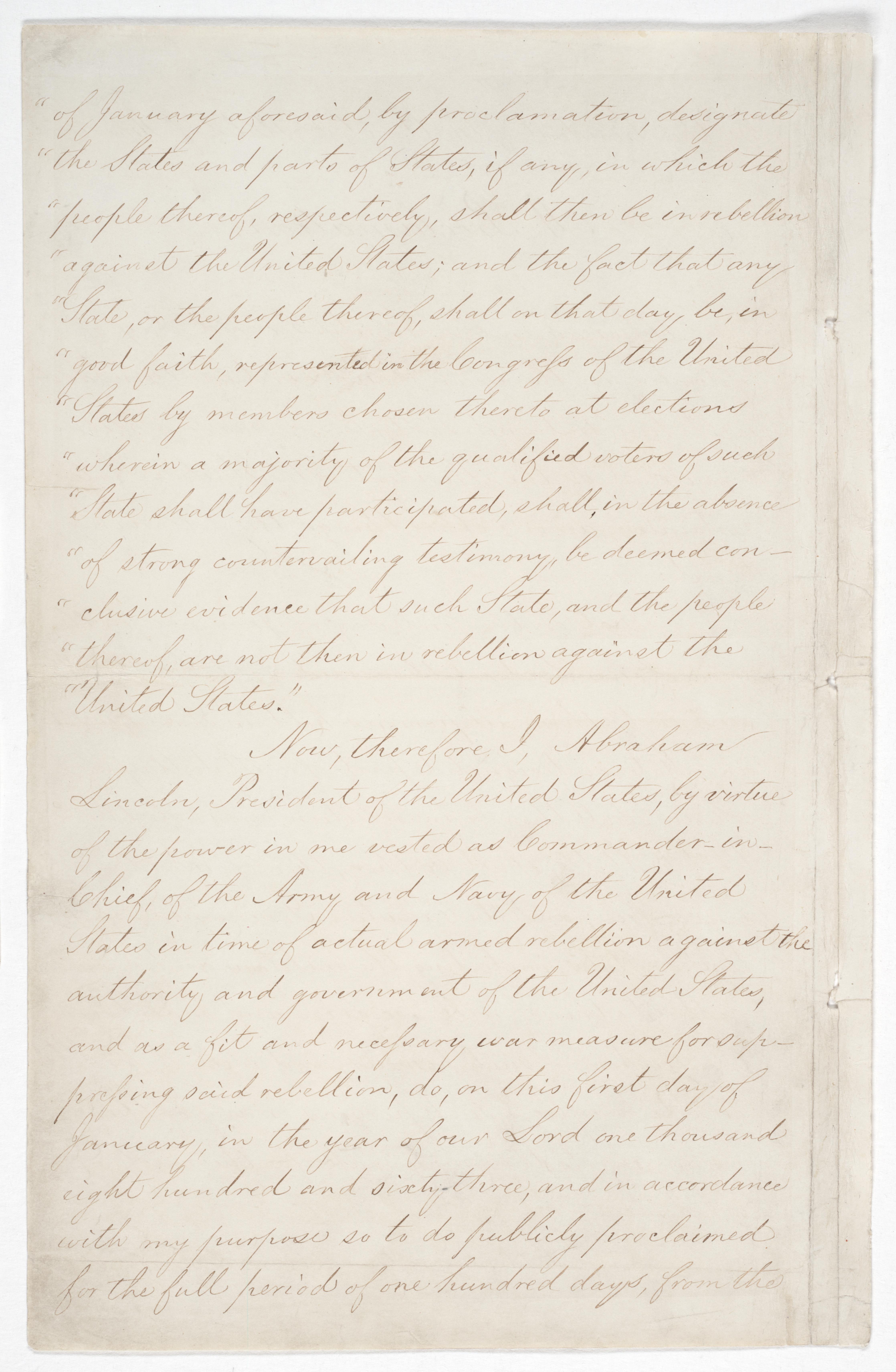 Emancipation Proclamation, Page 2